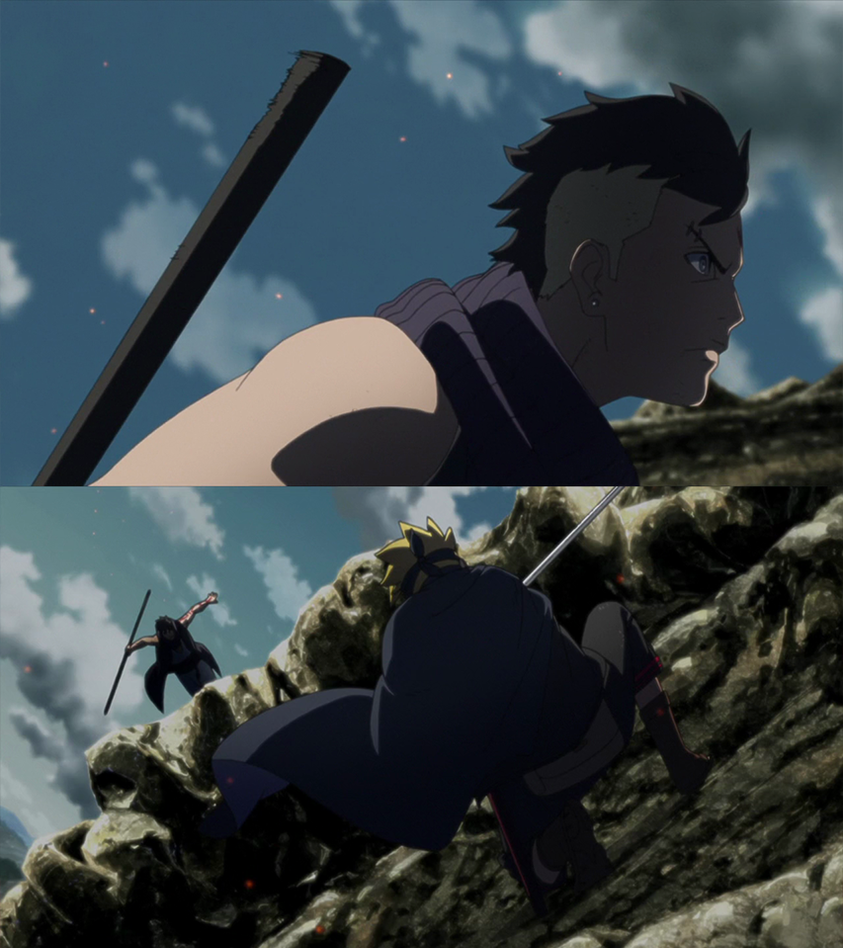 Kawaki Vs Boruto Clash Hd By Animeboy274s On Deviantart
