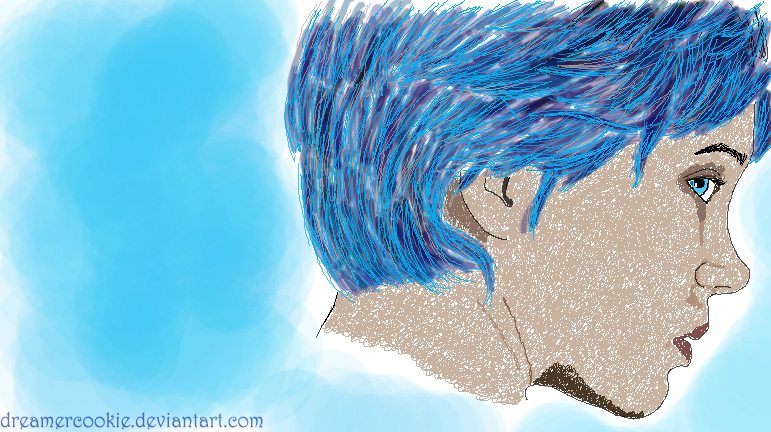Blue is The Warmest Color by DreamerCookie