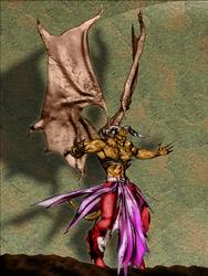 Alcomando Demon Colored