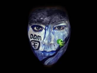 Durch Den Monsun Face-Paint by XxMangelBxX