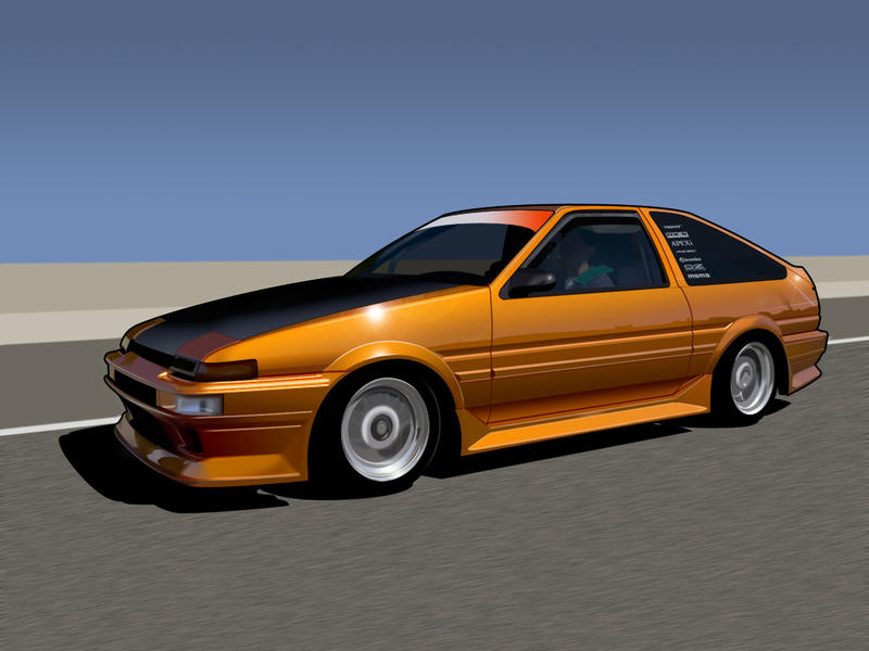 Ae86 Corolla Now With Interior By Koosh