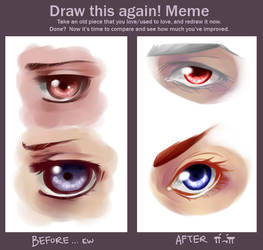 improvement meme, just a little by ANIMEPRO465