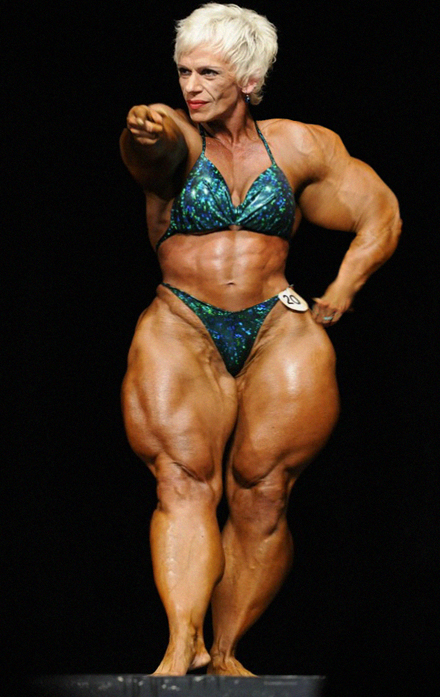 Granny Muscle Nude 48
