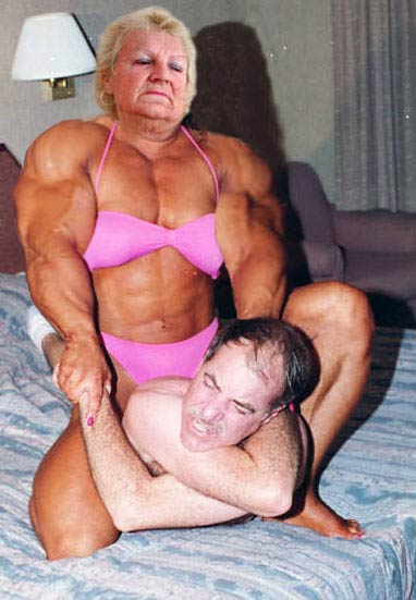 Granny Muscle Nude 120