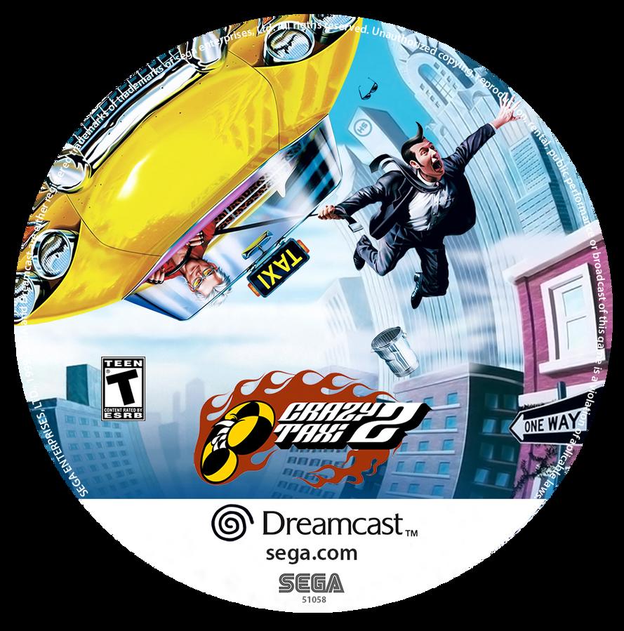 Crazy Taxi 2 Custom CD (Dreamcast) by CobraRoja