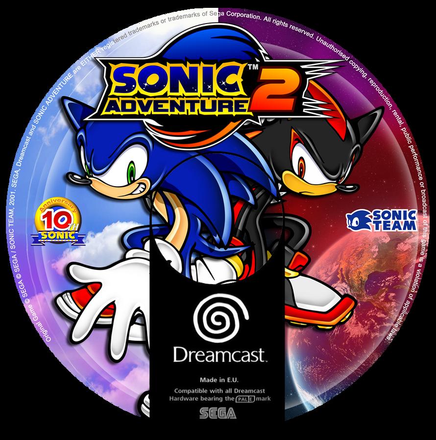 Sonic Adventure 2 Custom CD (Dreamcast) by CobraRoja