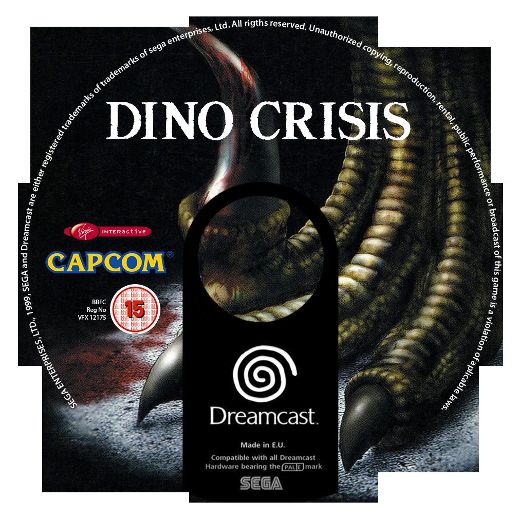 Dino Crisis Custom CD (Dreamcast) by CobraRoja