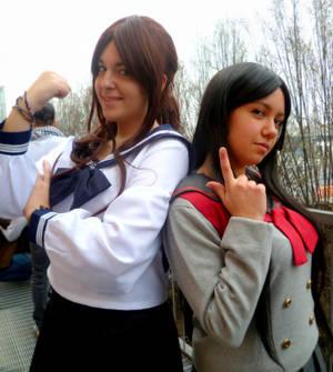 Rei and Makoto