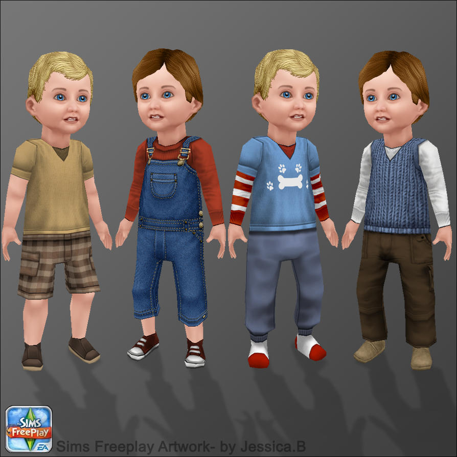 how to get a child on sims free play