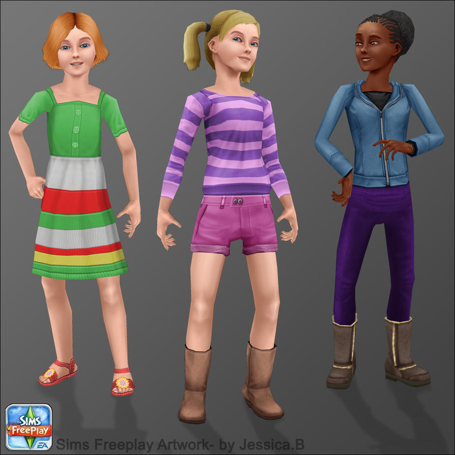 The sims freeplay long hairstyle - Sims_freeplay___tween_girls_by_nef_jessb D5f80hb Jpg