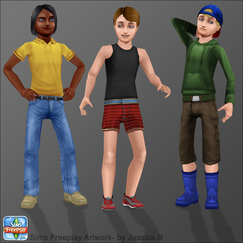 Hairstyles Quest Sims Freeplay : Sims FreePlay Toddler Boy Clothes