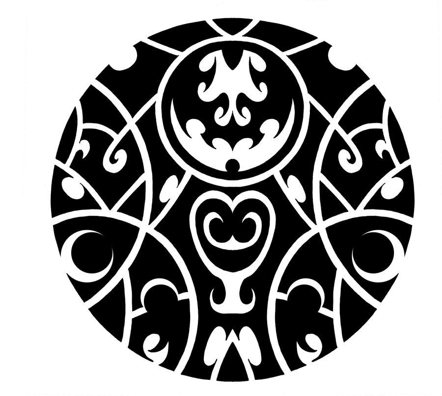 Maori Tattoo Designs Wallpaper: Circle Tribal 3 By ScribblingTend On DeviantArt