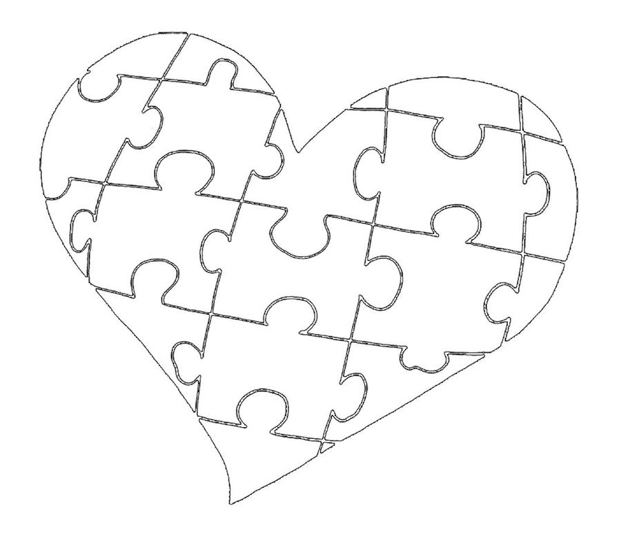 Line Art Heart Outline : Image gallery heart line drawing