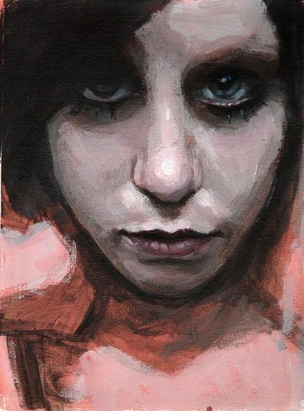 WIP: Doll Face by mjk-art