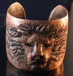 Copper Lion Cuff