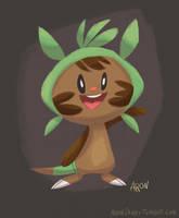 Chespin - Pokemon X by AronDraws