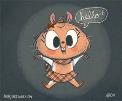 Introducing Little Miss Estelle! by AronDraws
