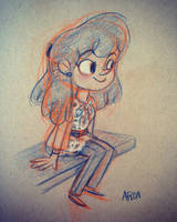 What I wore by AronDraws