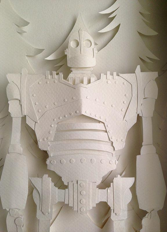 The Iron Giant - Detail by AronDraws