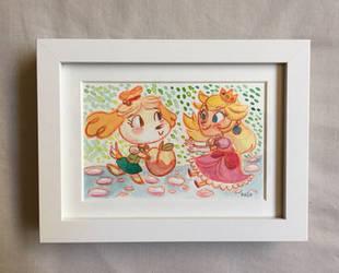 Peachy Keen by AronDraws