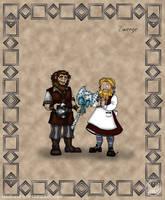 Folks: Dwarves by wolfanita