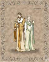 Folks: High Elves by wolfanita
