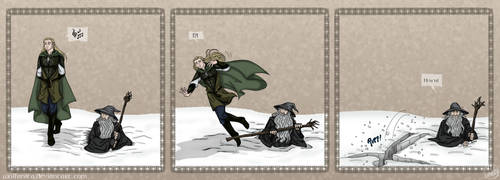 LotR: Poetic Justice by wolfanita