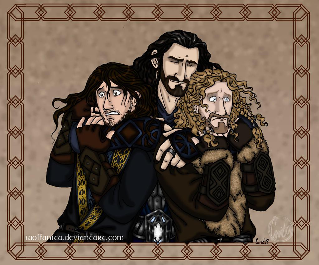 The Hobbit: Emotional Outburst by wolfanita