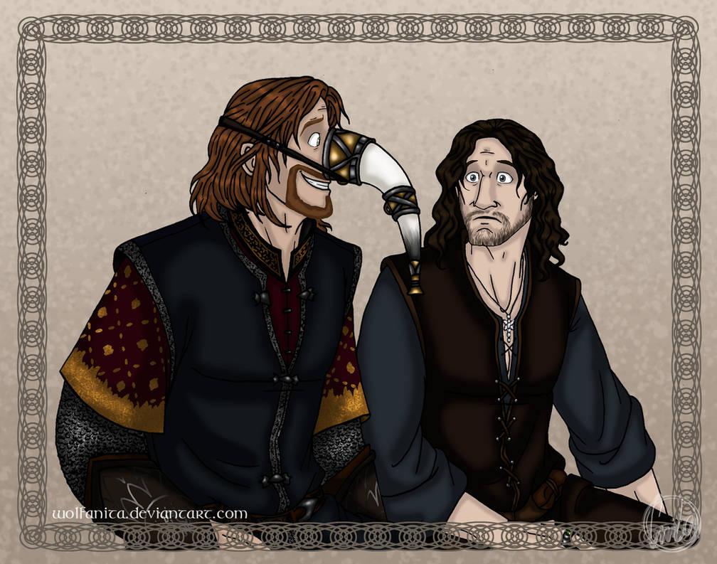LotR: Gondor Humour by wolfanita
