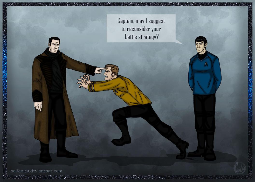 Star Trek Into Darkness: Thwarted by wolfanita