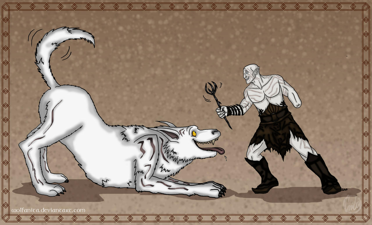 The Hobbit: Fetch! by wolfanita