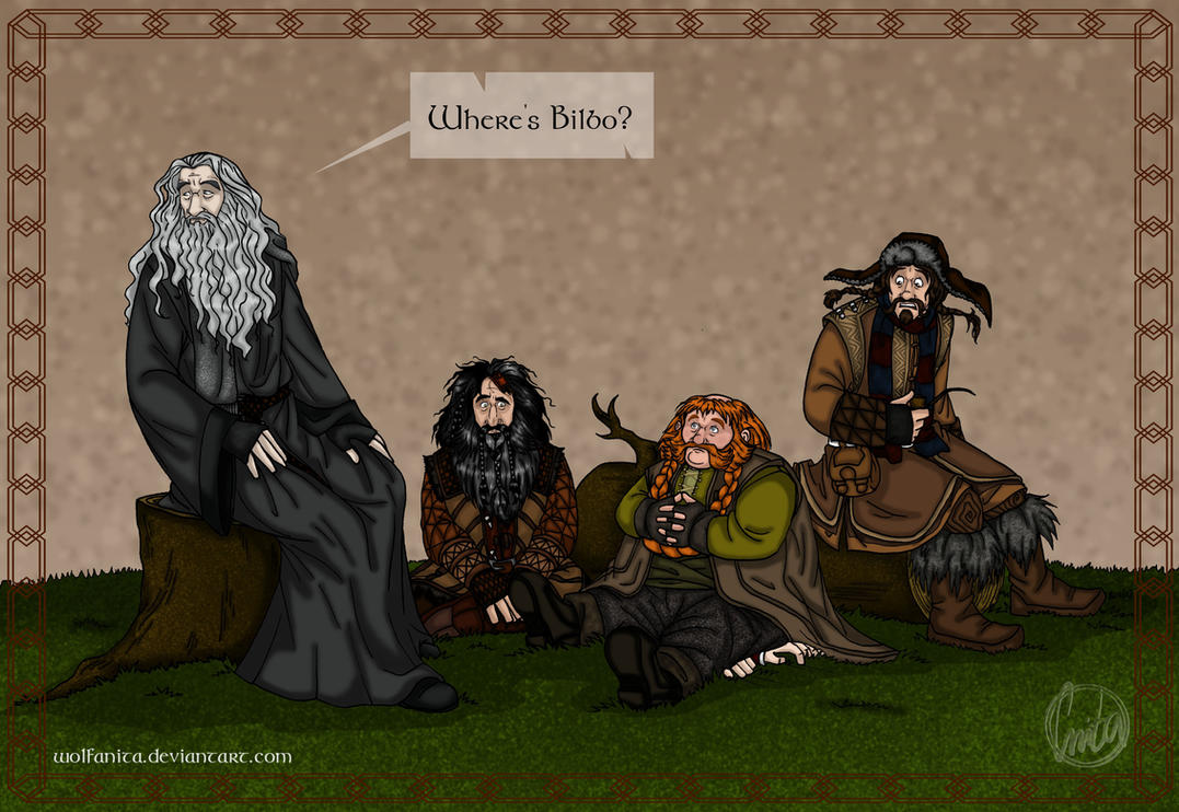 The Hobbit: Whoops! by wolfanita