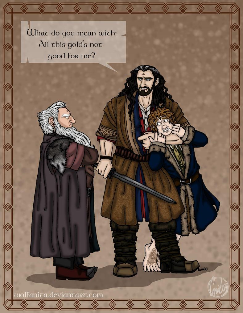 The Hobbit: Bad Influence by wolfanita