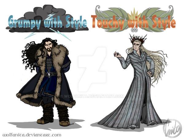 The Hobbit: Shirt Designs by wolfanita