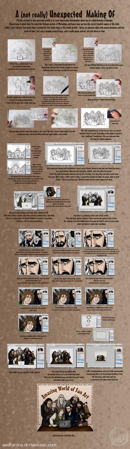 The Hobbit: Making Of by wolfanita