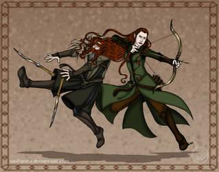 The Hobbit: Pure Elven Elegance by wolfanita