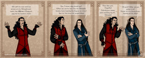 Silmarillion: Unforgiving by wolfanita