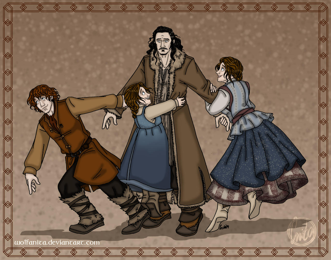 The Hobbit: Daddy! Part Three: Much Sought-After by wolfanita