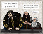 The Hobbit Doodle: Just Teasing