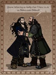 The Hobbit: Personal Disaster by wolfanita