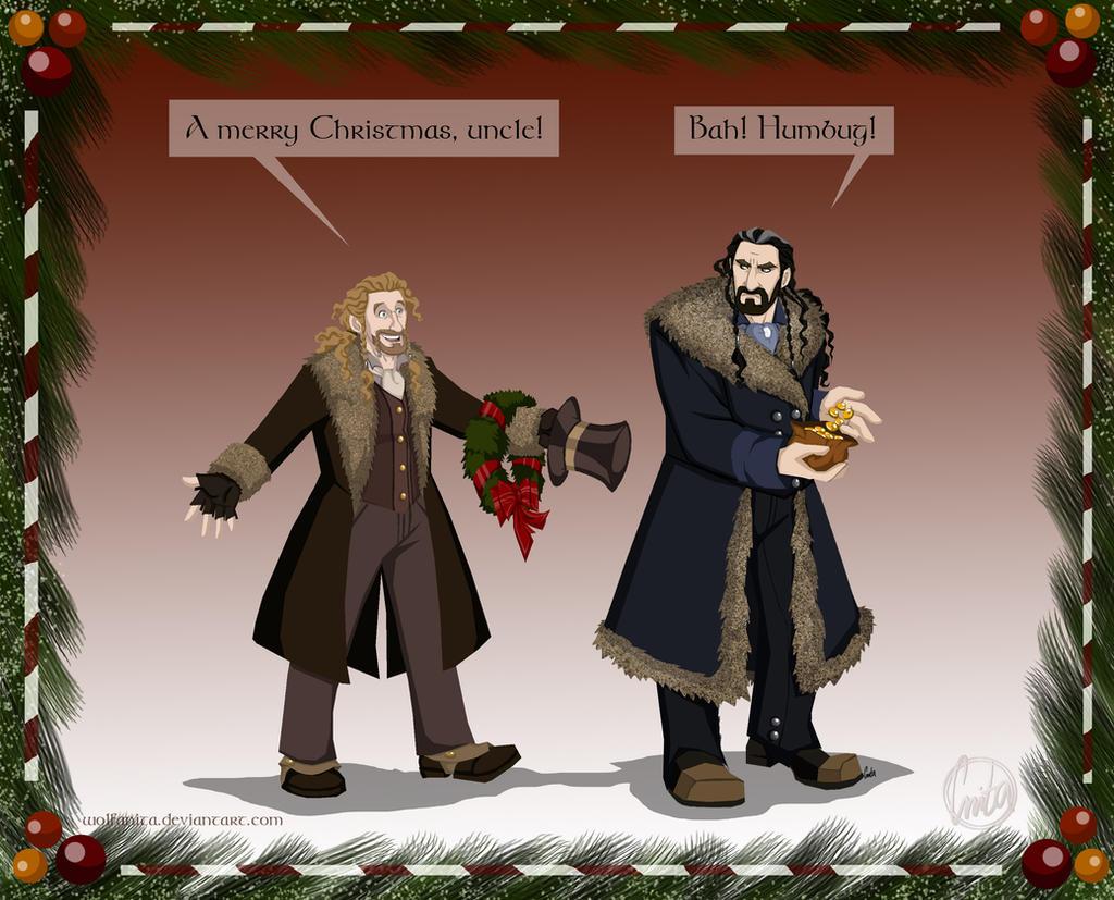 A Hobbit Christmas Carol by wolfanita on DeviantArt