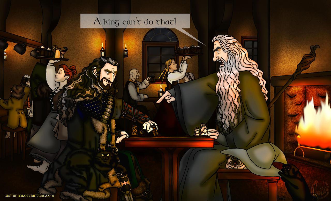 Commission: The Hobbit...