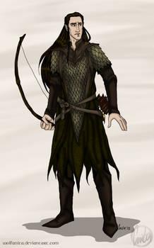 Commission: The Hobbit: OC Faron