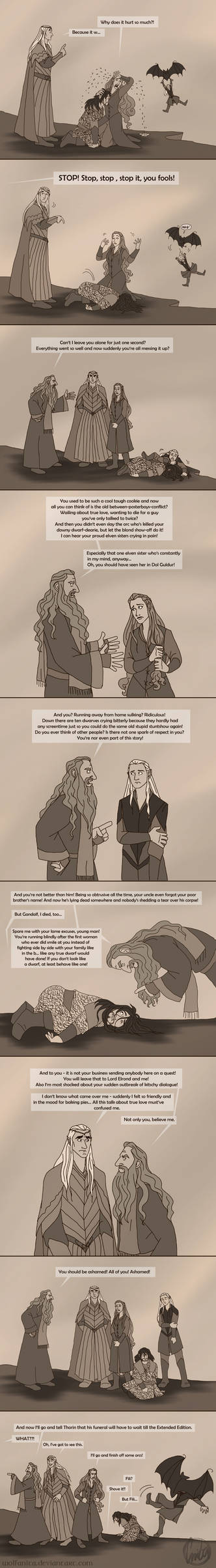 The Hobbit: Gandalf to the Rescue!