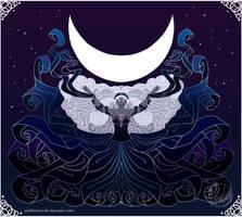 Moon 2015 by wolfanita