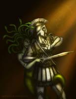 Medusa by wolfanita