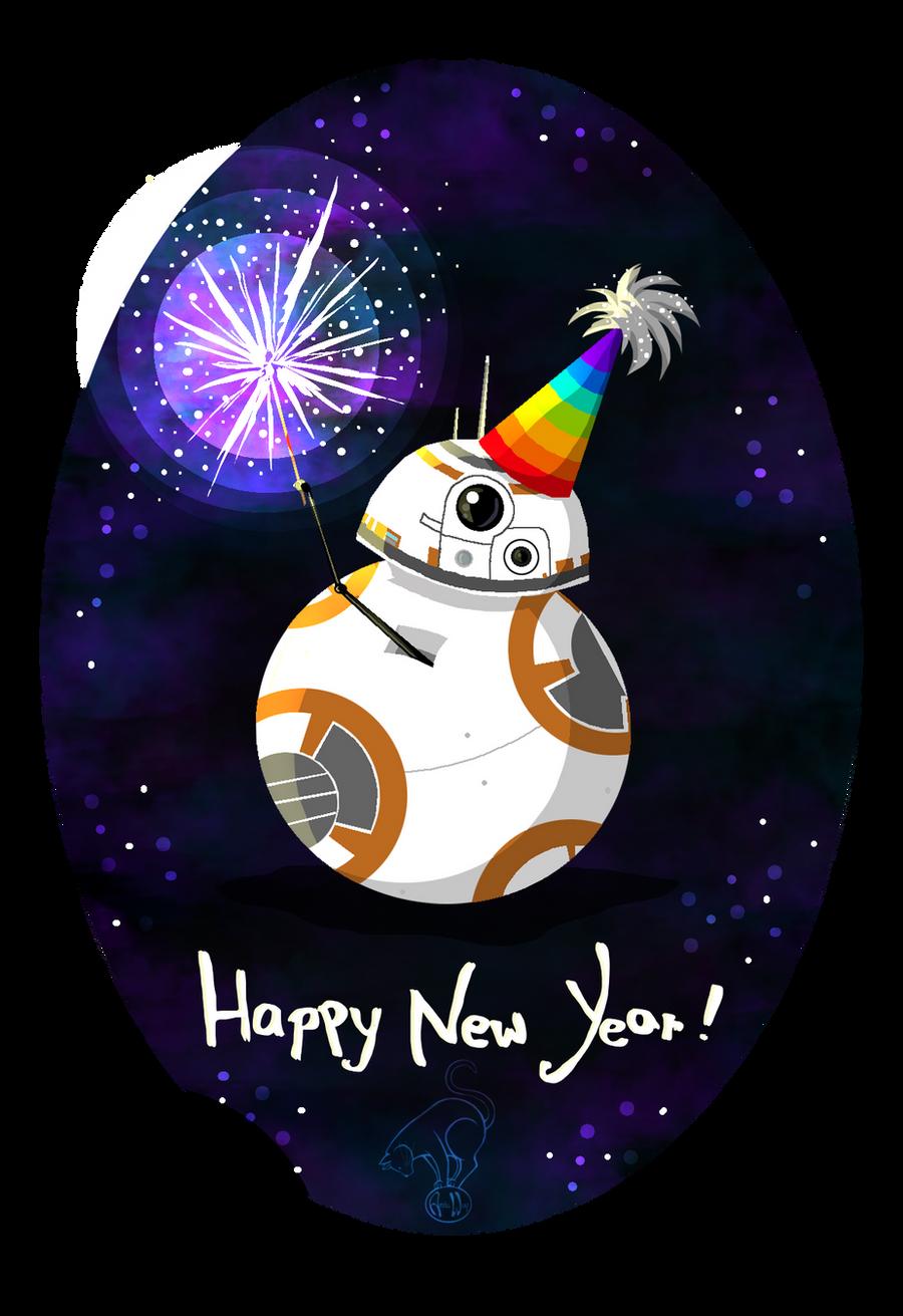 Star Wars: A BB New Year! by wolfanita on DeviantArt
