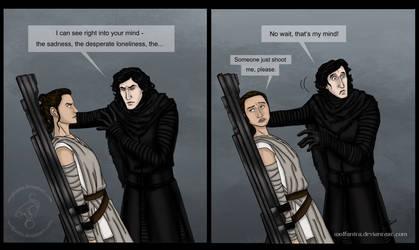 Star Wars: It's So Dark in Here by wolfanita
