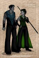 Folks of Euboa: Dark Elves by wolfanita
