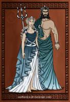 GodsOfAncientGreeceCouples:Poseidon and Amphitrite